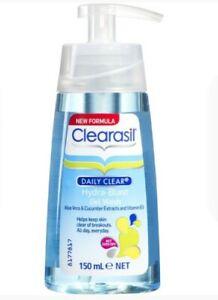 Clearasil Daily Clear Hydra-Blast Gel Wash 150mL Facial Cleanser