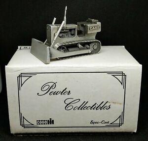 SpecCast Case Crawler Bulldozer Pewter Toy Tractor 1:43 scale w/ box