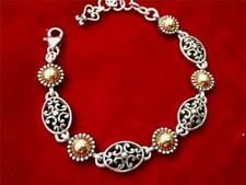 Brighton Barcelona Bracelet Silver plated & Gold new