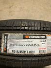 2 New 215 45 17 Hankook Optimo H426 Tires