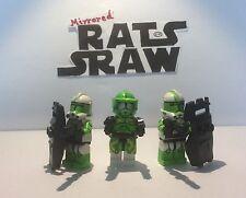 Lego Star Wars Minifigures-Clone Custom Troopers-Commandant Doom Set