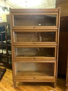 Weis Mid Century Barrister Bookcase