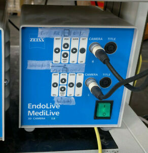 Zeiss EndoLive MediLive 3D CAMERA 3,8 with Camera and Endoskope