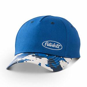 Peterbilt Motors Cap - Blue Boys Digi Camo Bill Hat