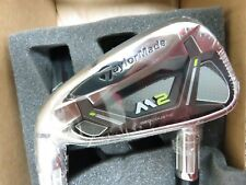 LH * NEW * TaylorMade 2017 M2 * 4 - PW + AW Irons Reax Graphite REGULAR