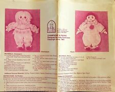 Kalico Kastle Champagne and Pierre Doll Pattern