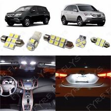 21x White LED lights interior package kit for 2001-2013 Acura MDX +Tool AM2W