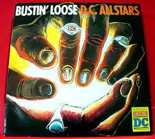 """D.C.Allstars Bustin' Loose 12"""" PC UK ORIG 1985 Streetwave MKHAN 36 (DC) VINYL"""