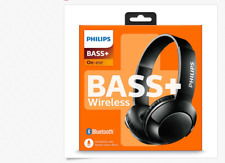 Philips Extra BASS+ Bluetooth Wireless On-Ear Headphones with Microphone