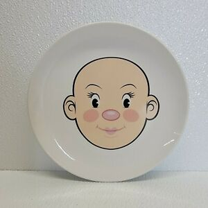 Fred & Friends Plays With His Food Plate Wooly Willy Face Child Dinner Dish Mrs.