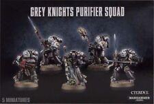 Miniaturas de Warhammer 40k caballero gris