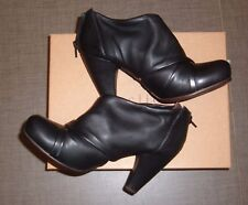 Gorgeous Coclico Dixon High Heel Ankle Boots Booties Black Leather 38 8 7.5 NIB