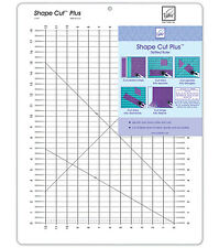 June Tailor 12 X 18-inch Shape Cut Plus Ruler