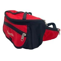 Columbia Sportswear Hiking Adjustable Waist Bag Unisex Fanny Pack Red First Aid