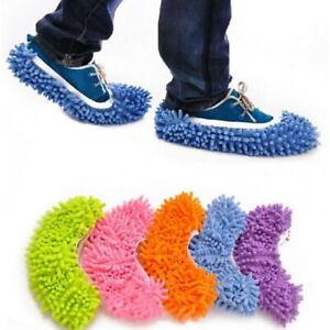 Dust Mop Slippers Lazy Floor Polishing Cleaning Socks Shoes Student Secret Santa