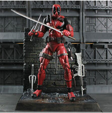Marvel Select Deadpool Masked Action Figures Collector Statue Model Diamond Toys