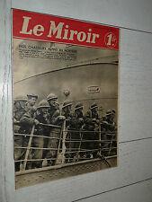 MIROIR 05/05 1940 GUERRE NORVEGE NARVIK BERGEN NORGE CHASSEURS ALPINS WW2