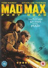 Mad Max Fury Road - Tom Hardy, Charlize Theron - NEW Region 2 DVD