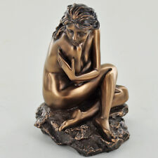 Art Deco Cold Cast Bronze Sculpture Nude Female Erotic Naked Statue Figure 31011