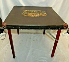 """VTG 20"""" MID CENTURY  FOLDING CARD TABLE KITCHEN DINING TABLE KIDS Child's"""