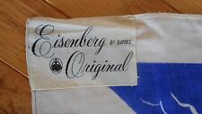 Eisenberg & sons Original Scarf Mermaids Mythical Sea Life Blue & White (AHB