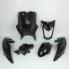 Fairing Kit P2R for Scooters Kymco 125 Agility 2004 To 2020 Shiny Black / 6