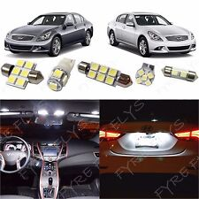 13x White LED lights interior package kit 2007-2014 Infiniti G35/G37/Q50 IG2W