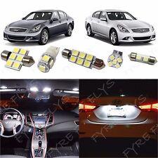 13x White LED lights interior package kit 2007-2014 Infiniti G35/G37/Q50 IG2W