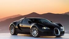 Bugatti Veyron (mountains) 24 x 36 Poster