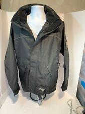 NWT Professional Viking Thor 300D Black Mens Med Weatherproof Breathable Jacket