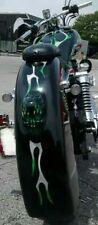 Harley Davidson custom rear fender. With one piece molded skull