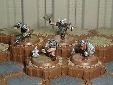 Axegrinders of Burning Forge - Heroscape- Wave 9- Blackmoon- Free Ship Available