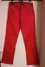 "ANNI 80 Pantalone vintage uomo ""fdn menswear"" VINTAGE MAN RED TROUSERS"