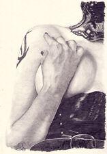 "ORIGINAL ART. ""Esclave"". Nude Study. bondage. par Simon field."