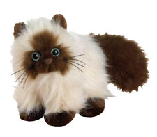 "Ganz Himalayan Furry Cat 8"" Plush Stuffed Animal Toy New Webkinz"