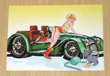 2013 5finity Car Wash Craziness MANDY YELLOW trading card Dean Yeagle CWC2M /60