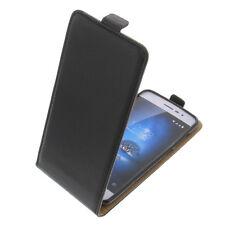 Custodia per Coolpad Torino S Flipstyle Custodia Cellulare Guscio Protettivo Flip Case Nera