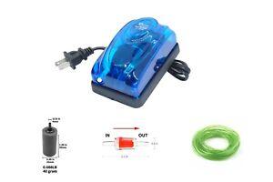 Air pump for Aquarium & Hydroponics, 1 Outlet, 57 GPH, 216 L/H, 3 Watt