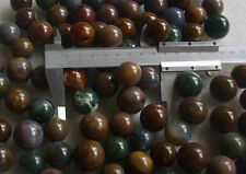 10 Pieces Natural Colorful Agate Pretty Crystal Spheres Ball Healing 20-24mm