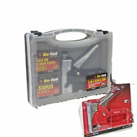 AMTECH  HEAVY DUTY STAPLE GUN EASY SQUEEZE UPHOLSTERY FURNITURE TACKER TOOL 3770