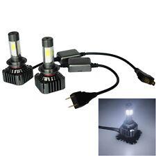 2 PCS WEIYAO V8s H7 40W 9600LM 6000K White Light Car 4 COB LEDs Headlight Kit, D