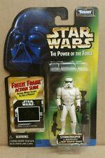 Star Wars POTF Freeze Frame Stormtrooper w/Blaster Rifle & Heavy Infantry Cannon