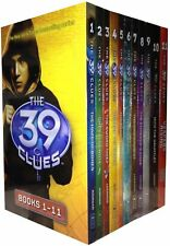 39 Clues Collection 11 Books Set Pack 66 Digital Game Cards By Rick Riordan NEW
