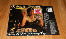 Mitch Ryder, SIGNED LP-COVER * never KICK a Sleeping DOG * with LP