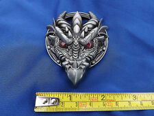 Legend Gothic Welsh Dragon Head  Purple Eyes Classic Belt Buckle