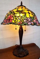 Celsiana Table Lamp - Tiffany Style Handcrafted Leadlight Lamp - New
