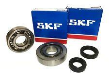SKF C4 Kurbelwellen Lager + Simmerringe Set Peugeot Speedfight 1 2 Euro2 AC LC
