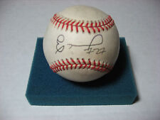 ELOY JIMENEZ autograph baseball CHICAGO CUBS Hot Prospect OFFICIAL NL BALL used