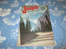 Vintage 1941 Canadian National Railways Jasper Park Travel Booklet W/Map