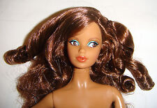 Nude Barbie Doll Long Curly Hair Aa Model Muse Barbie Dolls For Ooak mn901k